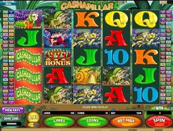 Cashapillar – Free Slot Game  http://www.onlinecasinoguru.com/?p=47327