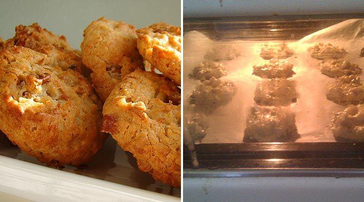 Türchen 8aus unserem Weihnachtskalender: Leckere Low-Carb Kokosplätzchen. Wir haben 40 Plätzchen aus den angegebenenZutatengebacken. Lasst es euch schmecken