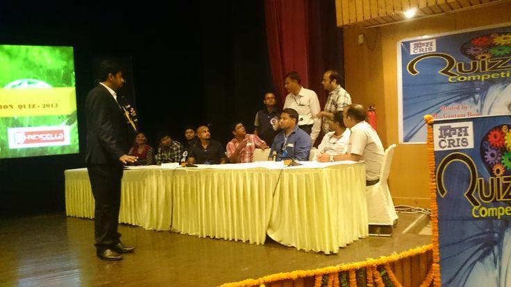 Quiz event in Delhi by Greycells for CRIS (Indian Railwalways)..  #quizcompany #greycellsquiz #delhiquiz #corporatequiz