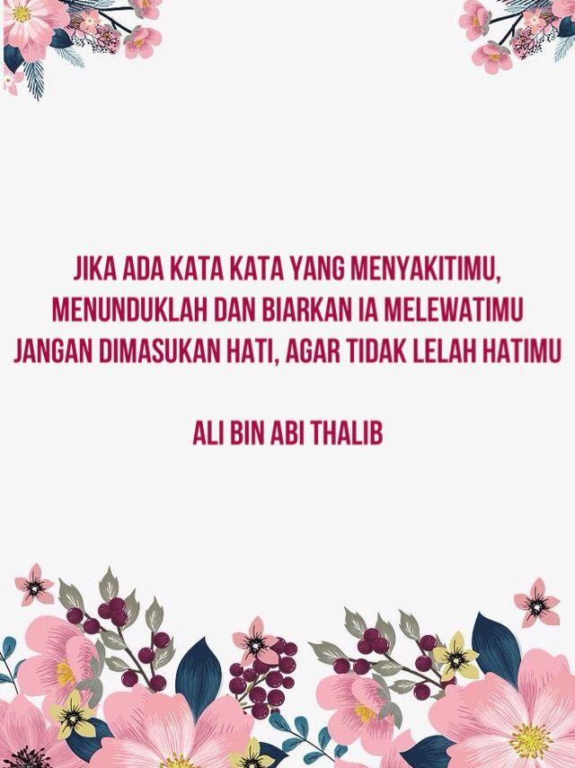 Ali Bin Abi Thalib Kata Kata Indah