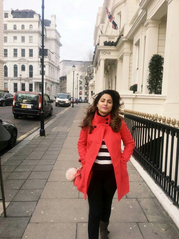 Hina Khan    #Instagram  #Londonevent