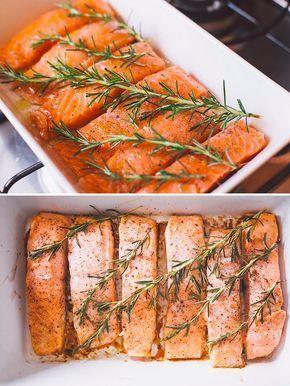 Um salmãozinho com alecrim à prova de preguiça.   15 pratos que você precisa saber cozinhar se tem vergonha na cara