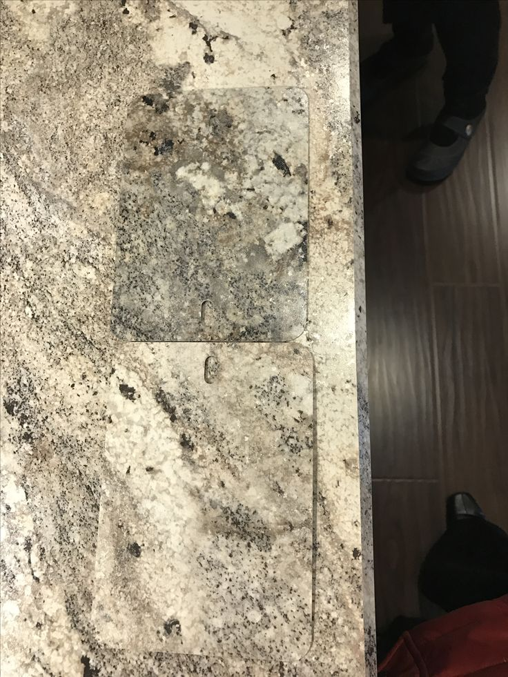 Formica Cafe Azul (darker) vs. Classic Crystal Granite