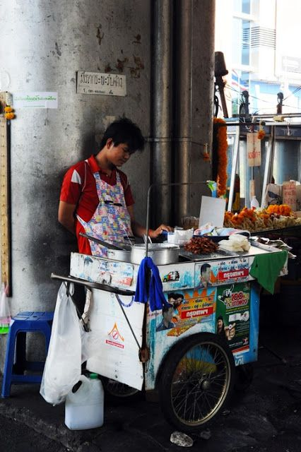 Street Food cart in Thailand                                                                                                                                                      Plus