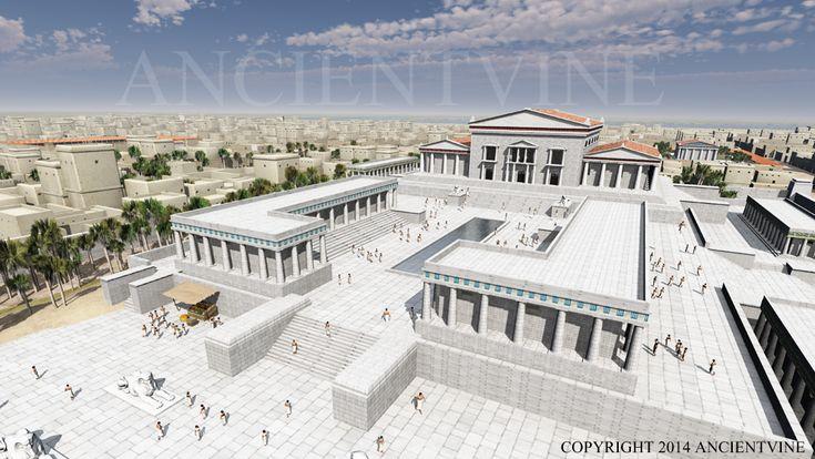 Library of Alexandria - Ancientvine