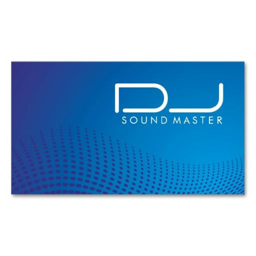 335 best dj business card templates images on pinterest dj dj business cards wajeb Image collections