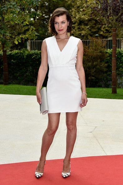 Milla Jovovich Photos Photos - Actress Milla Jovovich attends the 'Cymbeline'…
