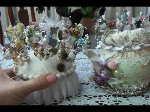 """▶ """"Tea pot and stickpins"""" DT project for NSK - YouTube"""