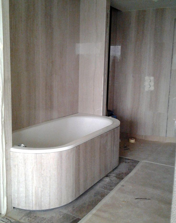 Marble bathtub covering with Aluminum honeycomb for Hyatt Regency Hotel
