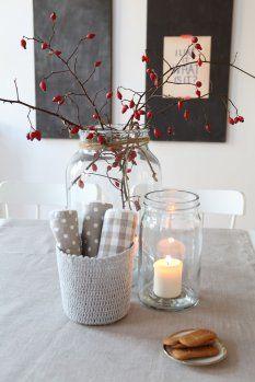 Tischdeko esszimmer  140 besten Herbstliche Wohnideen Bilder auf Pinterest | Herbst ...