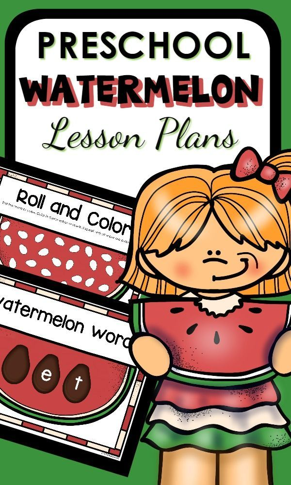 Preschool Watermelon Lesson Plans--full of watermelon activities that for preschoolers. Includes hands-on sensory play, science investigations, printable learning activities and more