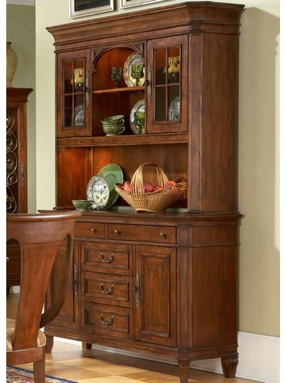 traditional buffet and hutch cotswold manor by liberty furniture dining room. Interior Design Ideas. Home Design Ideas