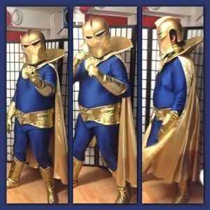 Costume design, hire, alterations and sewing service available in Bondi, near Bondi Junction in Sydney's Eastern Suburbs. We made this amazing costume for a customer to wear to a comic book convention. Dr Fate! He's going to Sydney's Supernova today! I made the Lycra suit, collar, belt, overjocks, boots and cape, my husband made the …