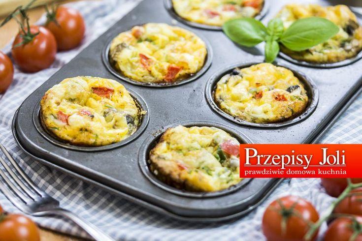 BABECZKI JAJECZNO-WARZYWNE - pyszna przekąska, babeczka na śniadanie lub kolacje :) Pyszne i bardzo szybkie w przygotowaniu :) Polecam :)