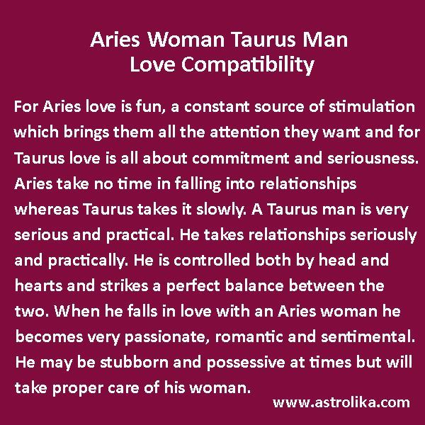 taurus woman and taurus man love compatibility