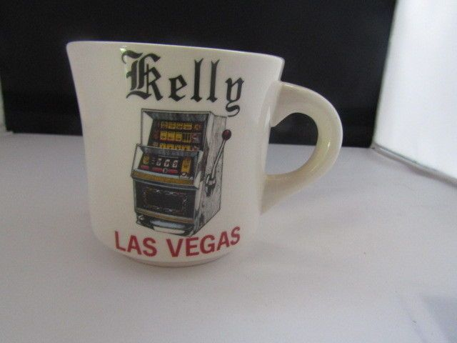 LAS VEGAS Slot Machine Mug Personalized Kelly
