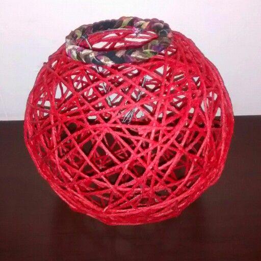 #Pantalla yute color #rojo, grande. Te gusto? Consultas a vanegoonzalez21@gmail.com