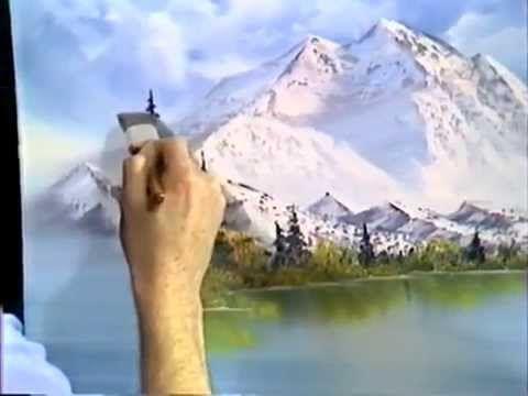 Боб Росс - Учимся рисовать горный пейзаж (1 сезон) - YouTube