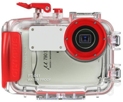Olympus PT-041 Underwater Camera Housing for Stylus 790 Sw, 850 Sw ** Click image for more details.