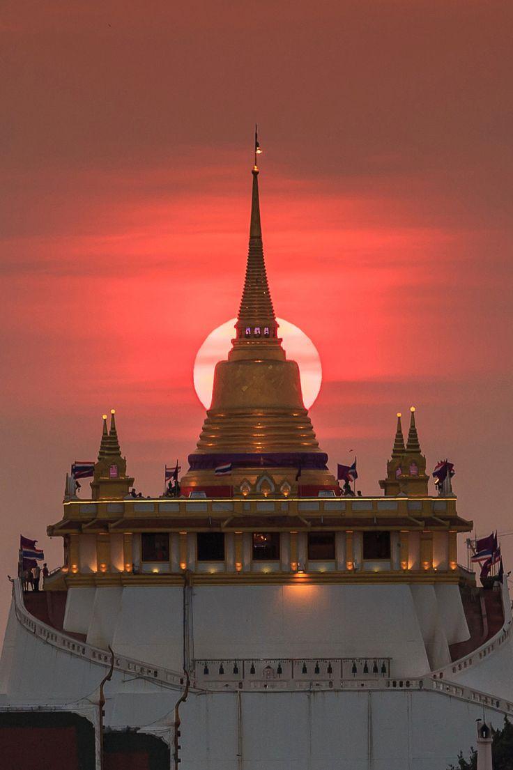 The Golden Mount on 500px by Phutthiseth Thongtae, Bangkok, Thailand
