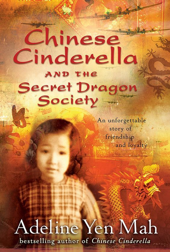 """Chinese Cinderella and the Secret Dragon Society"",  by Adeline Yen Mah - After her father and stepmother throw her out of their house in Shanghai, China, twelve-year-old Ye Xian is taken in by a martial arts group, the Dragon Society of Wandering Knights, and joins them and her aunt in a mission to help the Americans fight the Japanese."