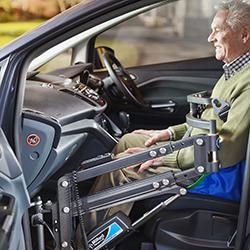 Milford Person Lifts & Hoists for Disabled Car Users