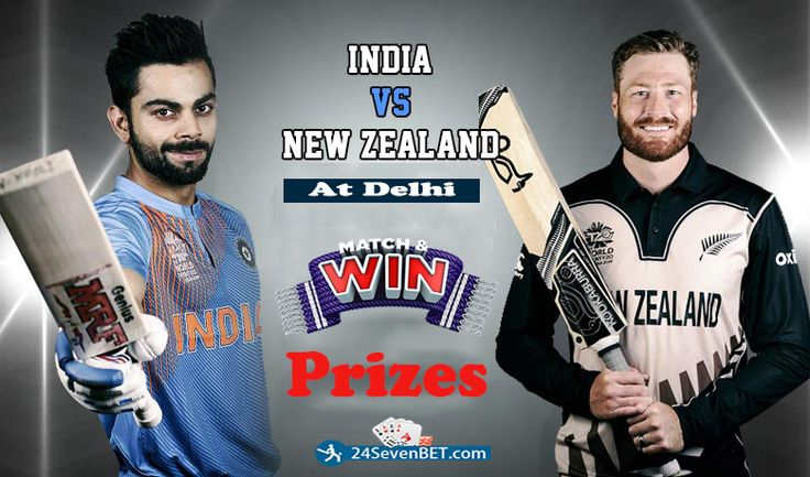 The 1st T20 Match Between #INDvsNZ. Predict Who Will Win Place Free Bet on your Favourite Team & Win Prizes online at 24sevenbet