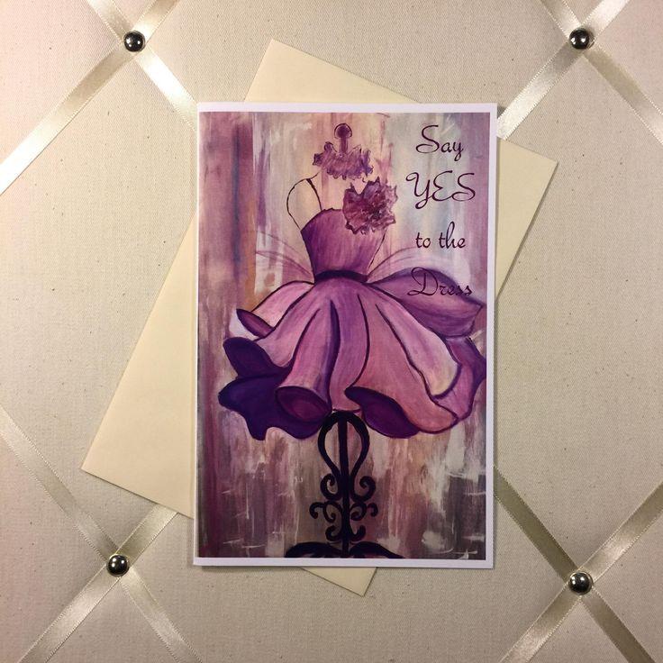 Greeting Card, Personalized Greeting Card, Happy Birthday Card, Original Artwork, Oil Painting Art, Framed Art, Custom Card, Custom Order, Dress Card,