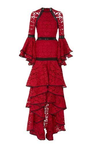 Alexis Laurel Tiered Ruffle Dress