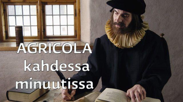 Mikael Agricolaa (n. 1510-1557) pidetään suomen kirjakielen isänä. Hänen ABC-kirjansa, joka ilmestyi vuonna 1543, sisälsi kristinopin ja lukemisen perusteet. Kirja oli ensimmäinen suomalainen aapinen.