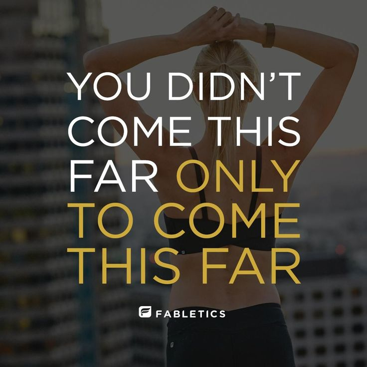 Motivation quotes & fitness inspiration | Fabletics #FitnessInspirationQuotes