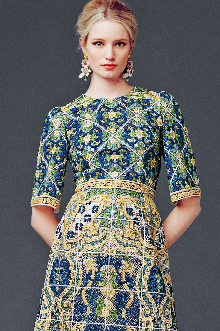 Dolce And Gabbana Winter 2015 Woman Collection: Dolce And Gabbana Winter 2015 Woman Collection