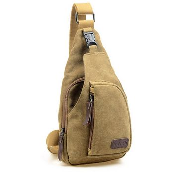 Tactical Military Messenger Bag $28.99 - Now $15.99 Holds your phone, keys, wallet etc and lets your arm free as you move around. Straps perfectly to you without jostling or getting in the way. Armies