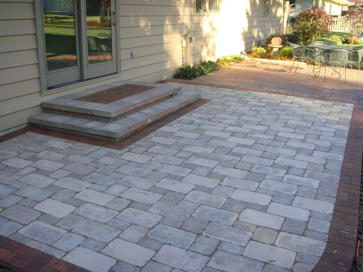 "patio | ... ""Prairie""blend w/ Holland Premier Border Patio to see before image"