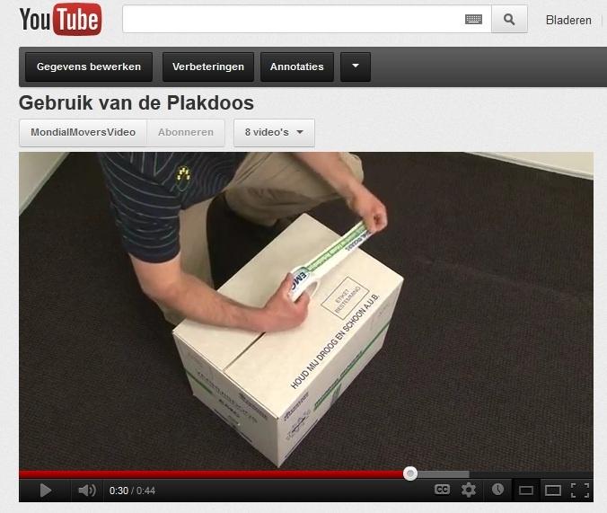 Verhuistip! Tips over het gebruik van de plakdoos | verhuizen | verhuizing | Moving