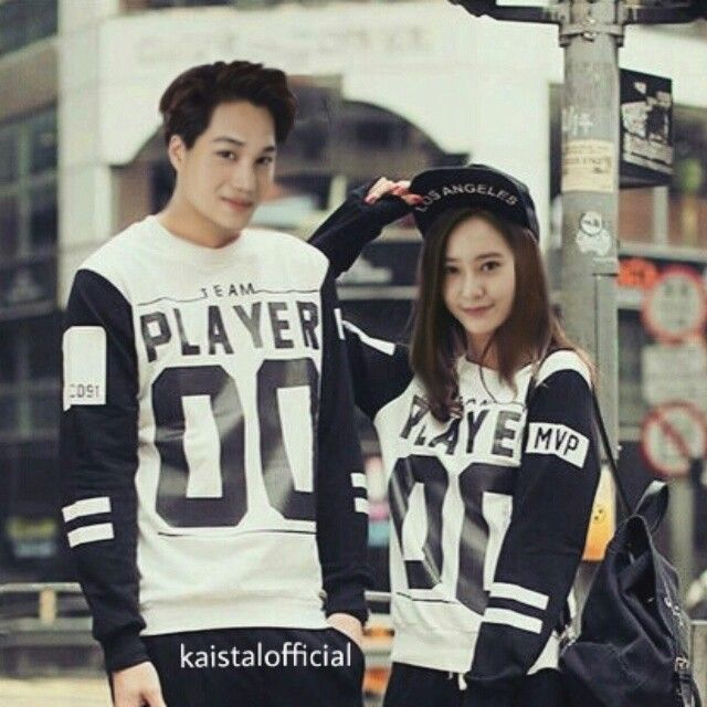 Kai and krystal #kaistal #exo #fx