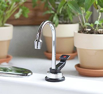 Hot Water Dispenser On The Sink $122