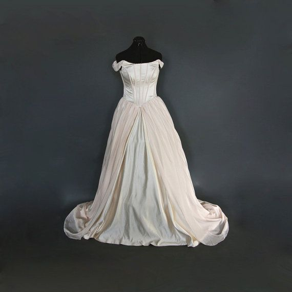 Blushing Champagne Wedding Gown  Sample Gown by Deconstructress, $599.00