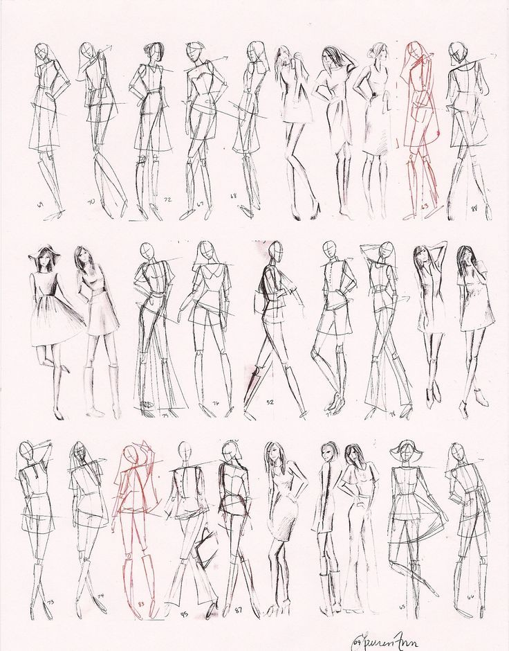 cool Images For > How To Draw Fashion Figures In Simple Steps by http://www.globalfashionista.xyz/fashion-poses/images-for-how-to-draw-fashion-figures-in-simple-steps/