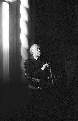 Borges todo el año: Jorge Luis Borges: Historia de la Eternidad [Prólogo] - Retrato de Jorge Luis Borges, Buenos Aires, 1985 en Revista Apertura