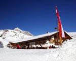 Kriegeralpe im Skigebiet Lech-Zürs am Arlberg