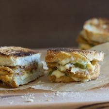 """""""Hot Mess"""" Grilled Cheese"""