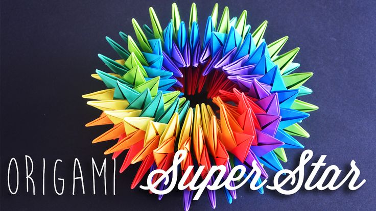 How to make origami SuperStar.
