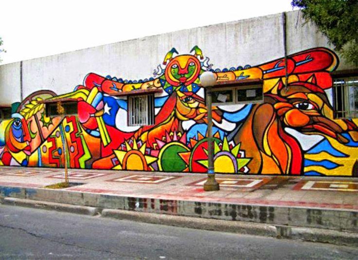 Cuadros Modernos: Imágenes de Murales Politicos Chilenos