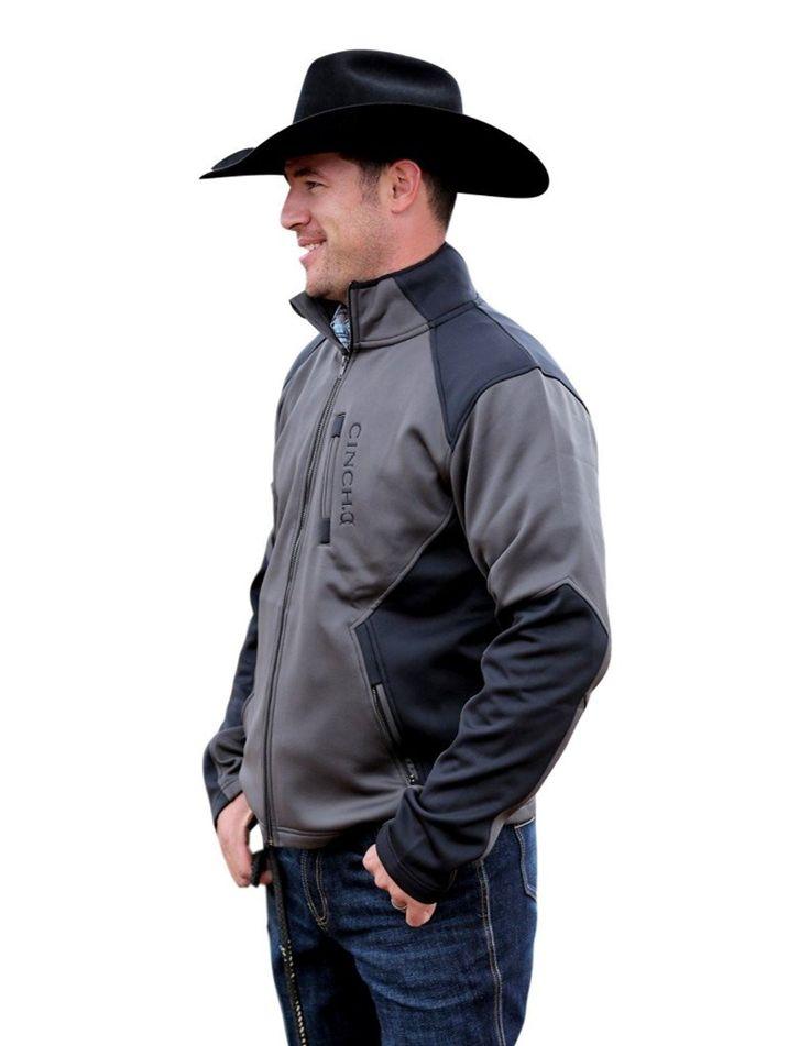 Cinch Men's Fleece Color Blocked Soft Shell Jacket