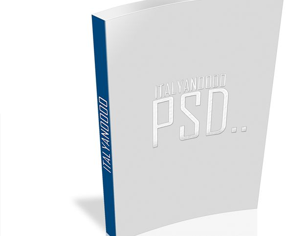 3d book cover template