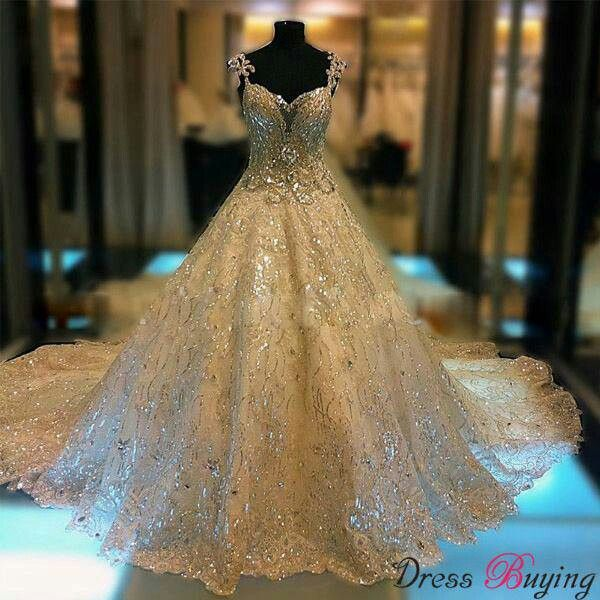 If Only I Had A Reason To Wear Such Beautiful Gown Anyone Throwing Any Fancy Parties Find This Pin And More On Blinged Out Wedding