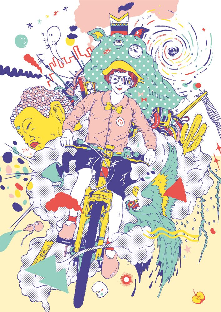 Toshihiro Mori - Digital Art | Curioos