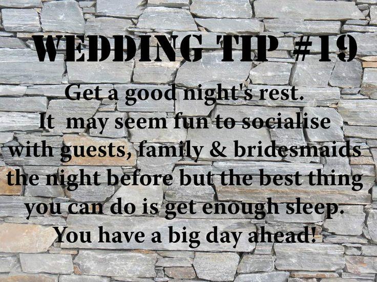 Wedding Tip #19