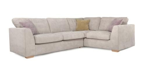 Left Hand Facing 2 Seater Corner Sofa Sherbet | DFS £699 (14.56 / month four years)
